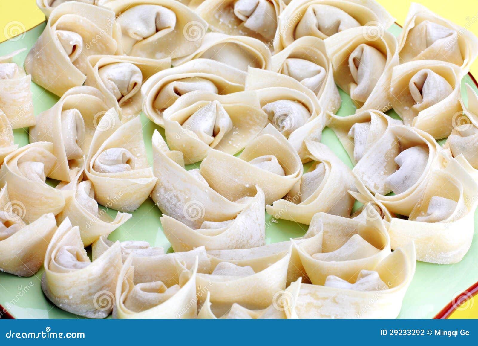 Download Wonton, alimento chinês foto de stock. Imagem de salty - 29233292
