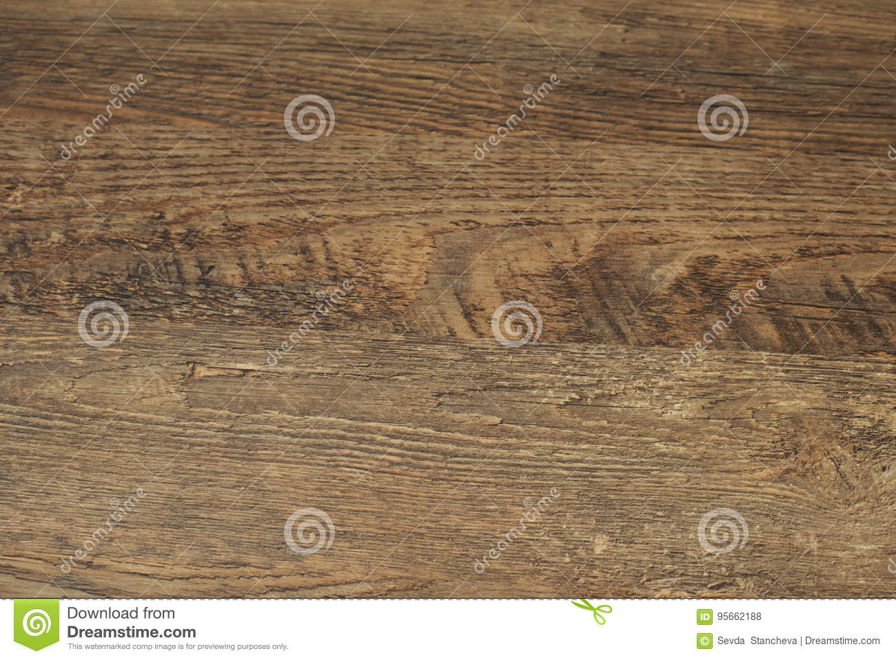 Wood background. Old wood texture. Wooden plank grain background. Striped timber desk close up, old table or floor. Brown boards