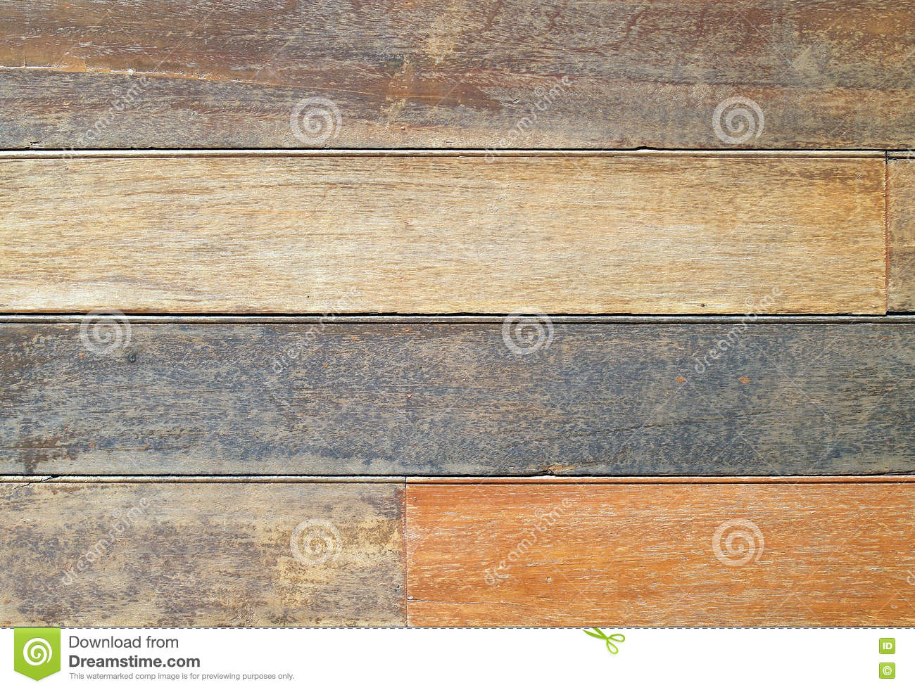 brown wooden plank wall or floor texture background, row of wood panel for decorate houses in country style