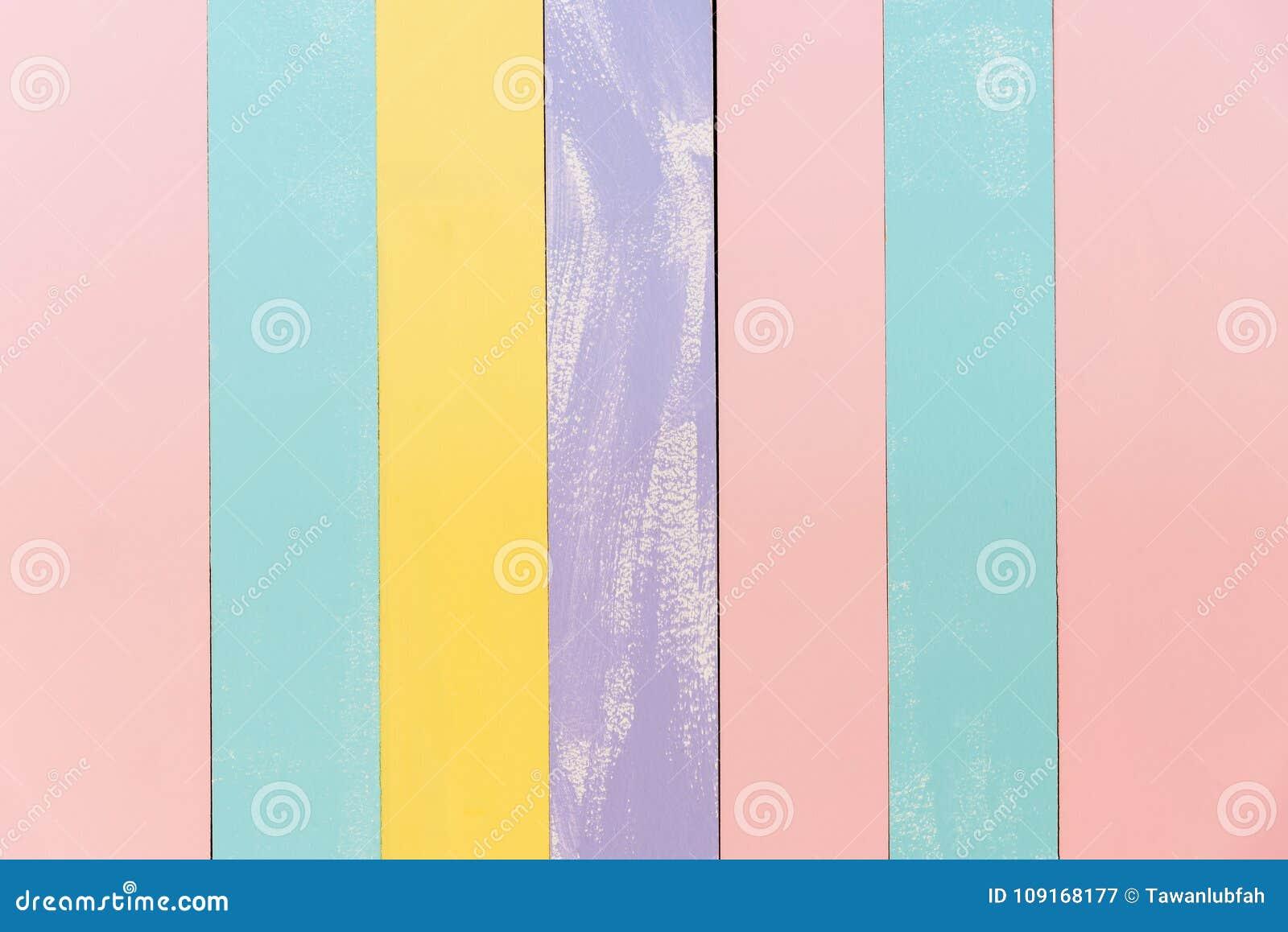 Wood bakgrundstextur för gammal tappning, söt pastellfärgad träväggte