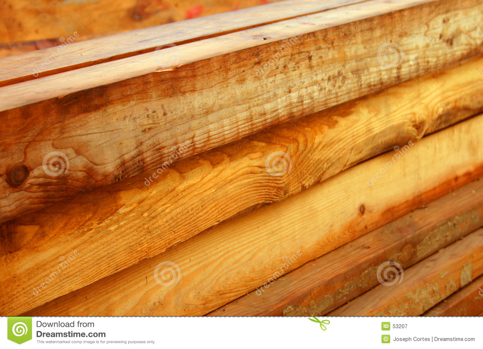 Wood Beams Royalty Free Stock Photography Image 53207