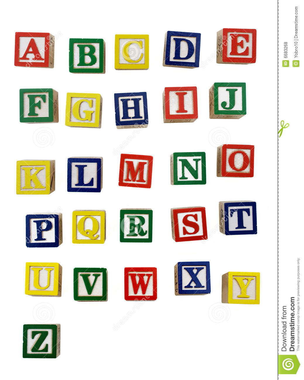 Wood Block Letters Stock Photo Image Of Block Puzzle