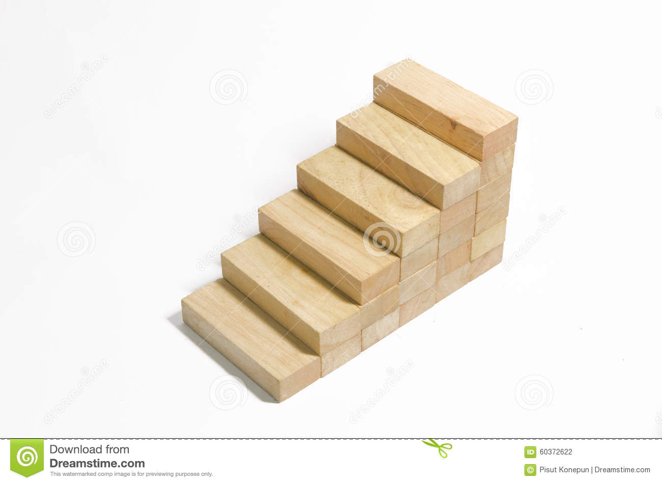 Bon Wood Block Stair