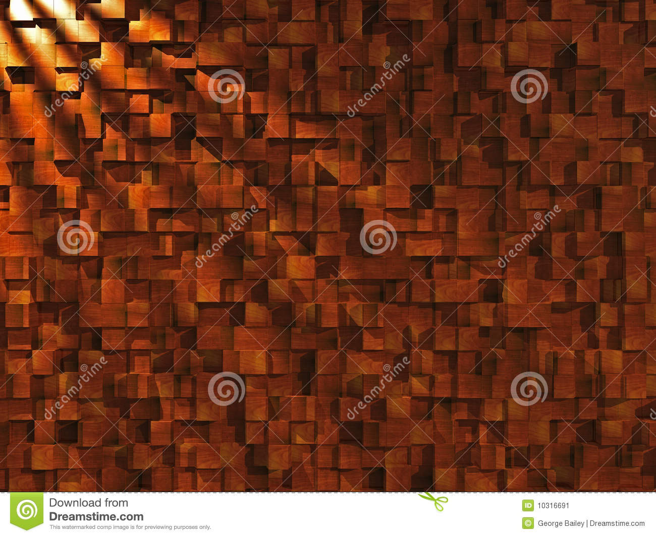 Wood Block Wall Wood Block Wall Stock Illustrationimage Of Backdrop  10316691