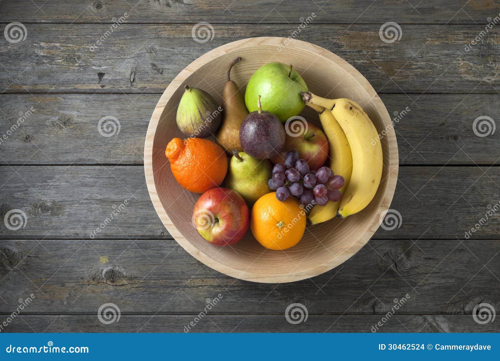 Wood bunkefruktbakgrund