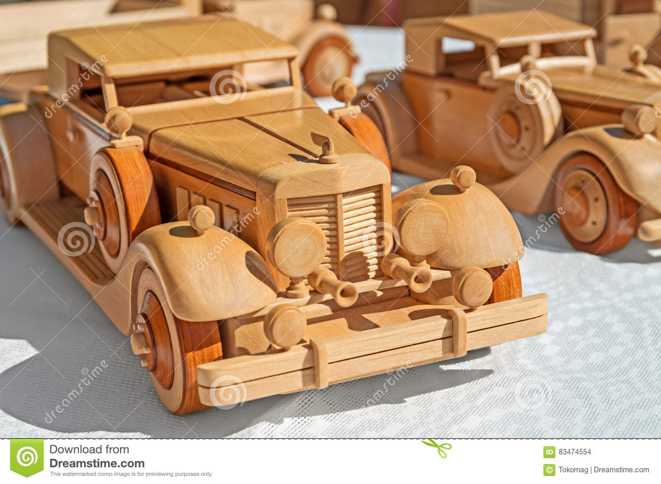 Wood Car Model Stock Photo Image Of Aged Hobbies Homemade 83474554