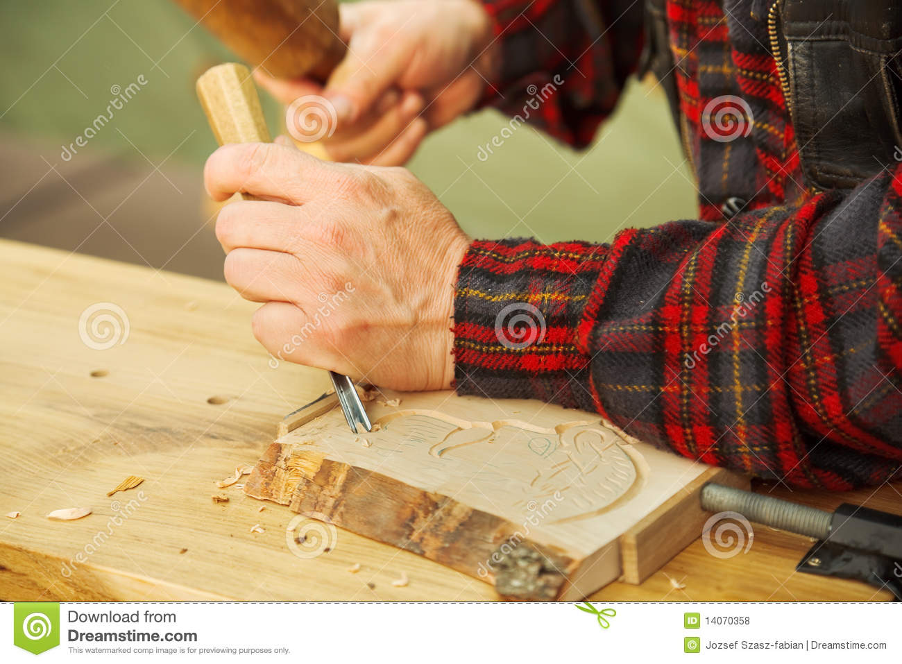 Download Wood carving stock photo. Image of popular, engraver - 14070358