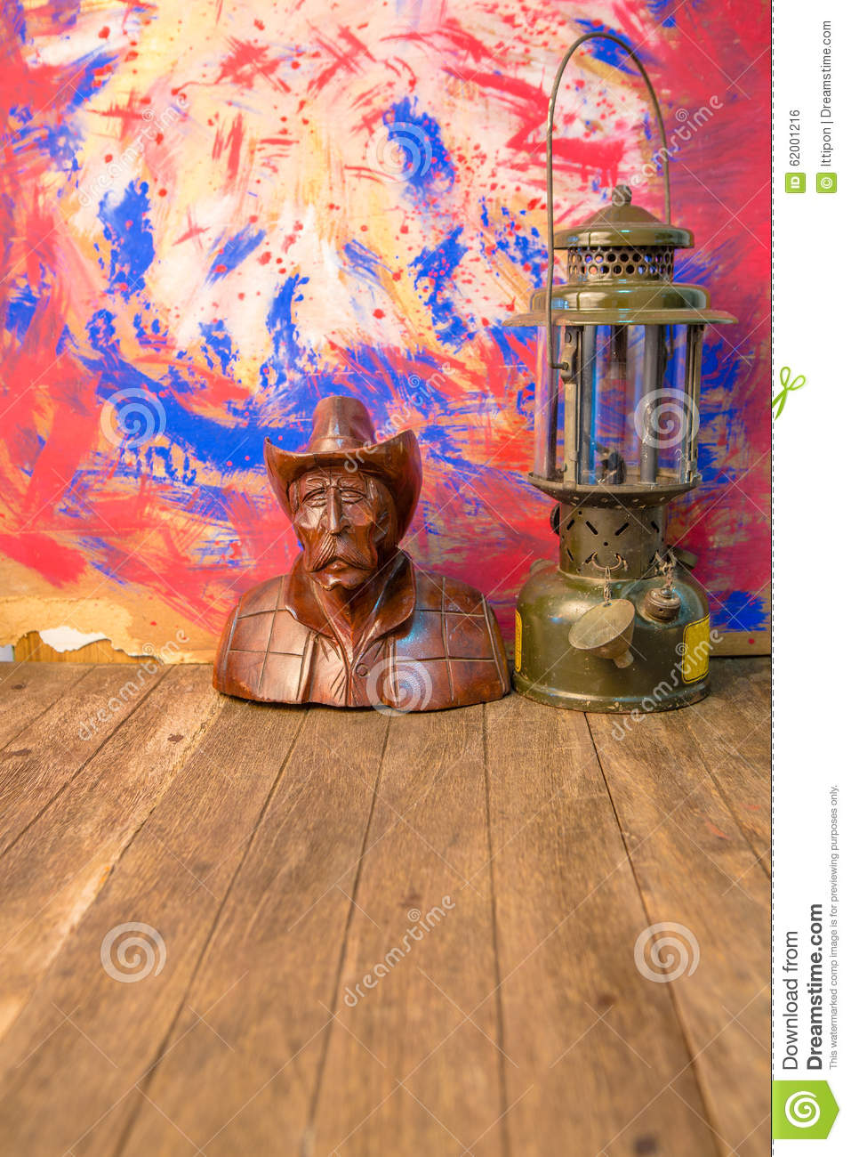 Download Wood Carving With Old Lantern Stock Photo - Image of carving, relaxation: 62001216