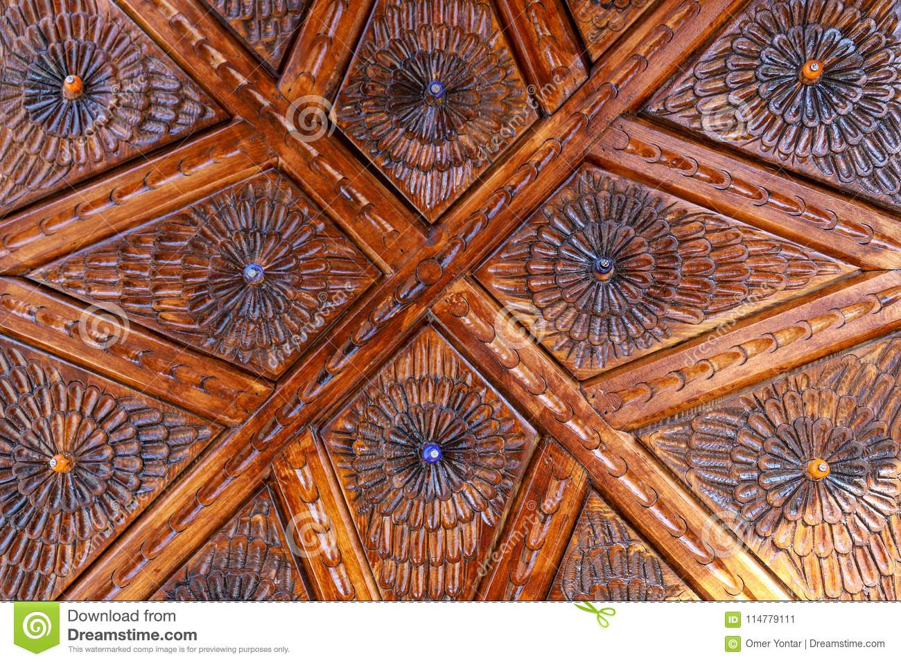 Wood carving and patterns stock image. image of culture 114779111