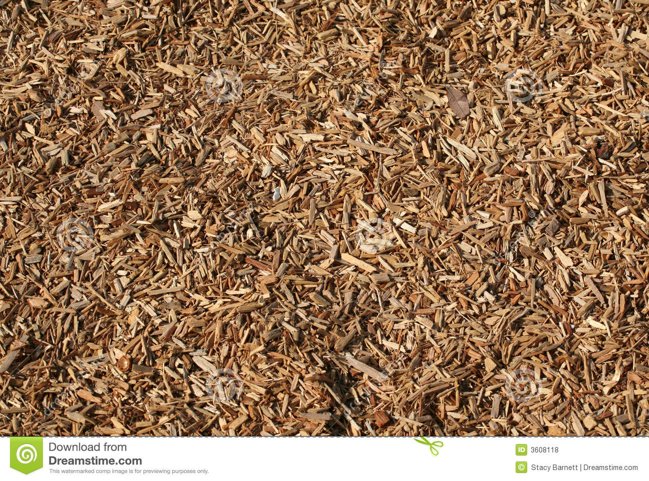 Wood Chips For Ground Cover ~ Wood chip royalty free stock photos image