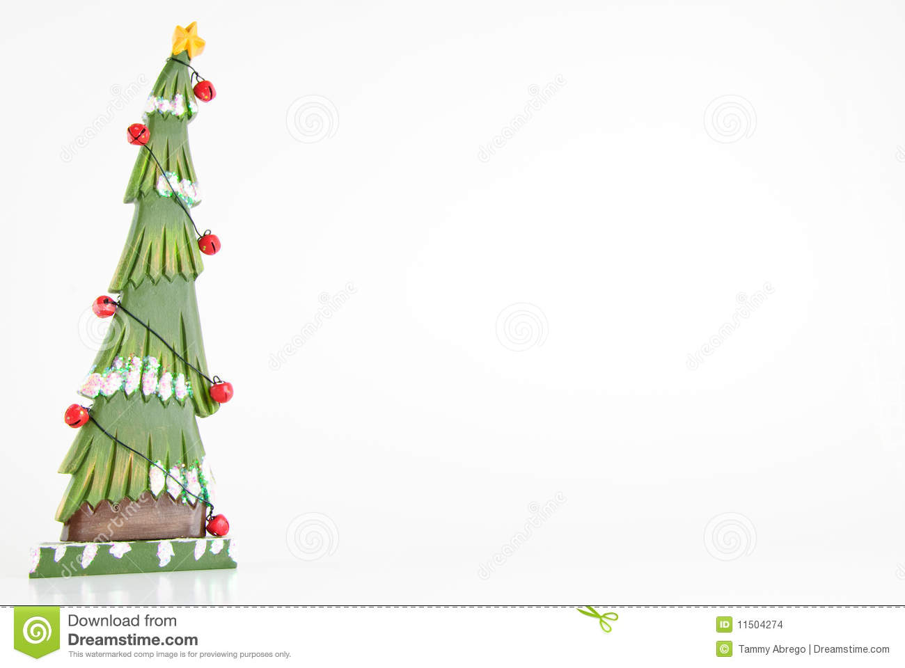 Download Wood Christmas Tree Frame Stock Photo Image Of Narrow