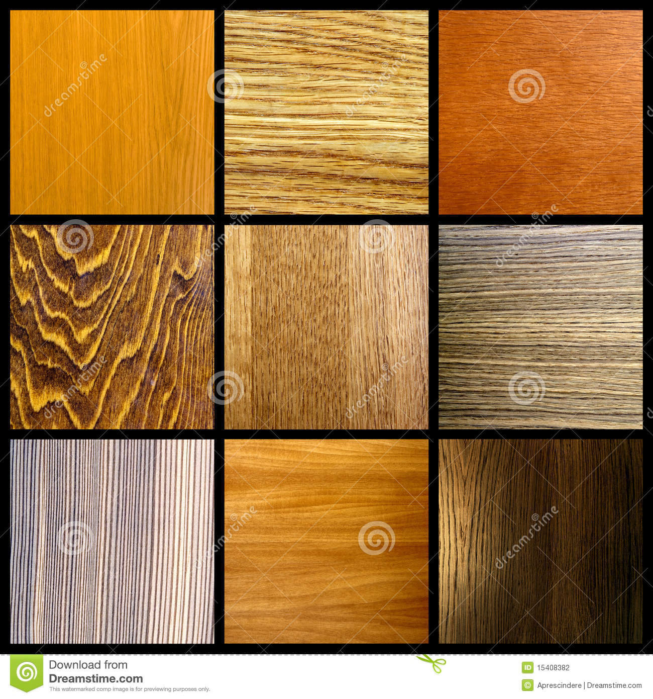 Wood Collage Stock Photography Image 15408382