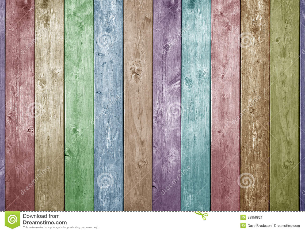 Wood Painted Colours Easter Background
