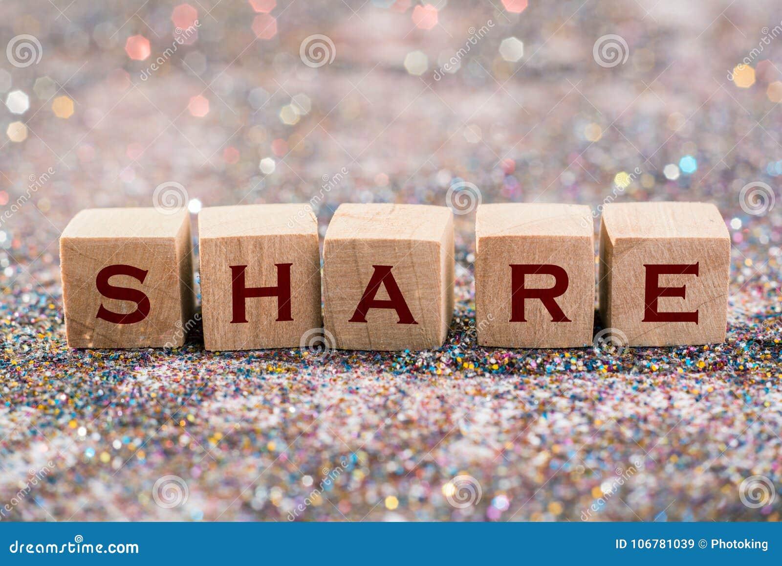 Share word