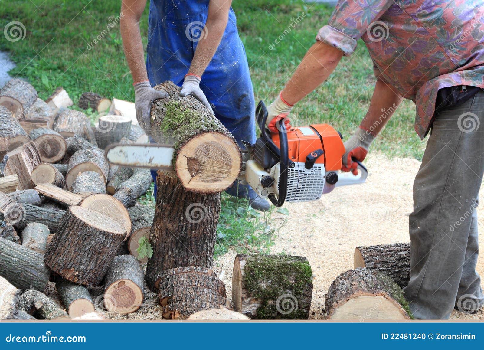 Wood cutting stock photo image