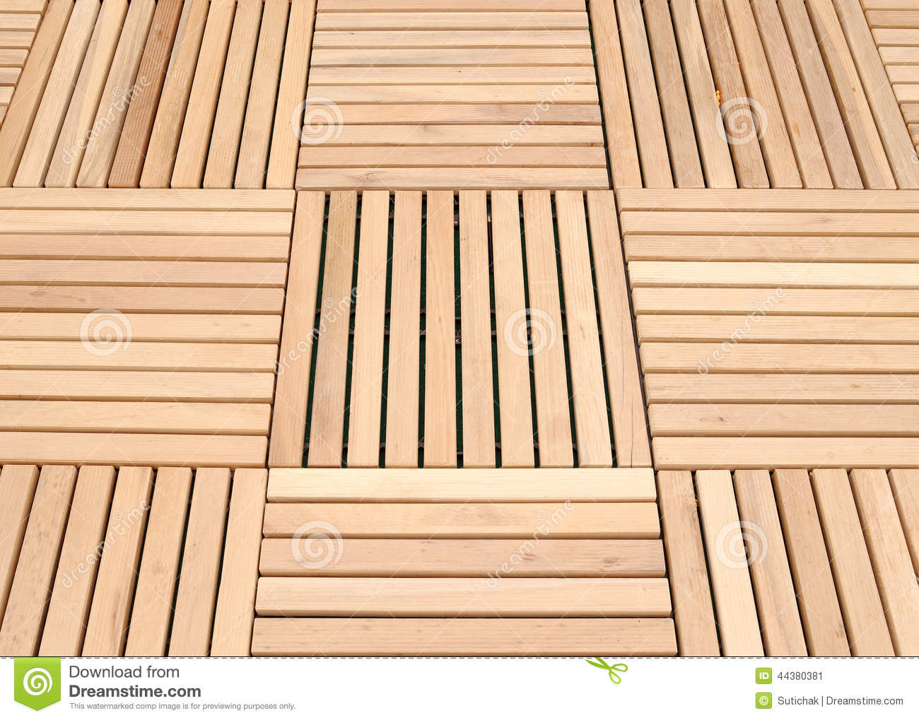 Wood deck panel floor background stock photo image
