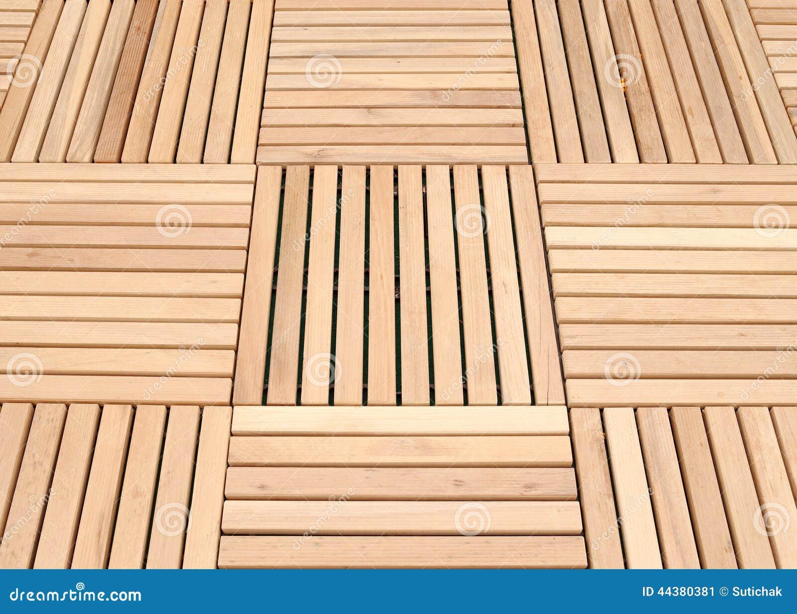 Wood Deck Panel Floor Background Stock Photo Image 44380381