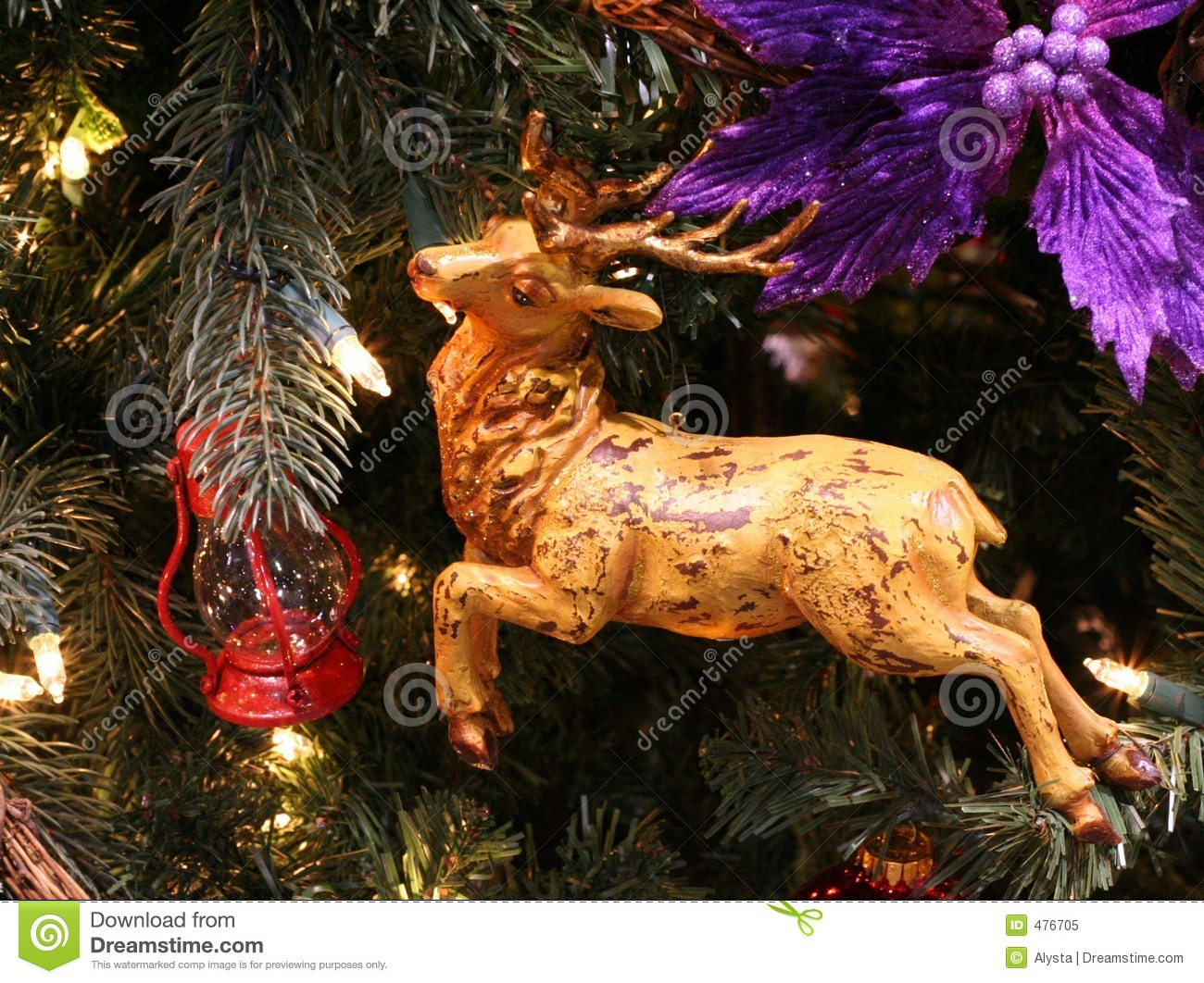wood deer christmas ornament - Wooden Deer Christmas Decorations