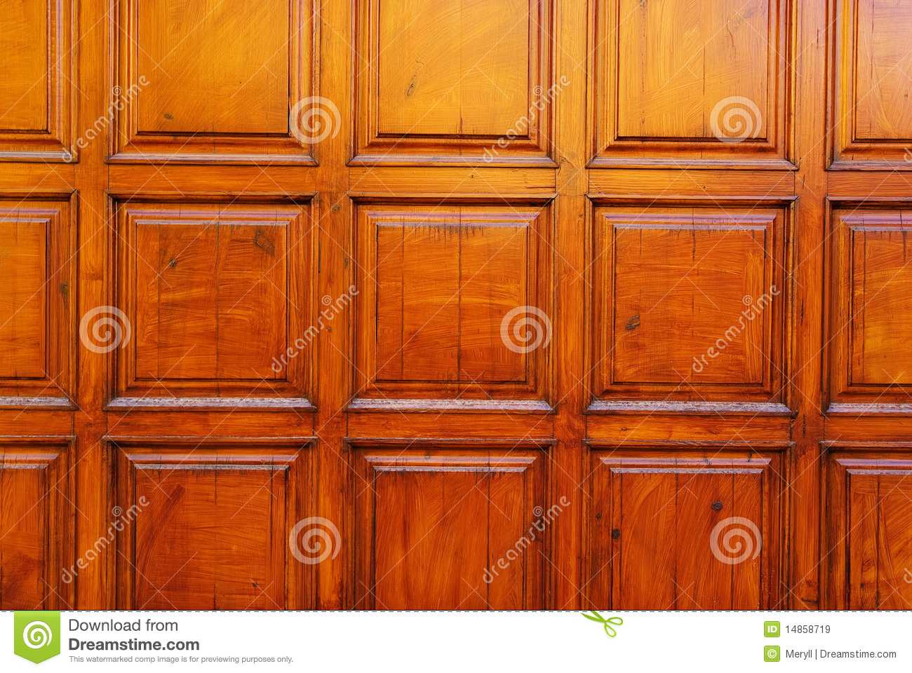 Wood door design stock image image of frame garage 14858719 - Wood design image ...