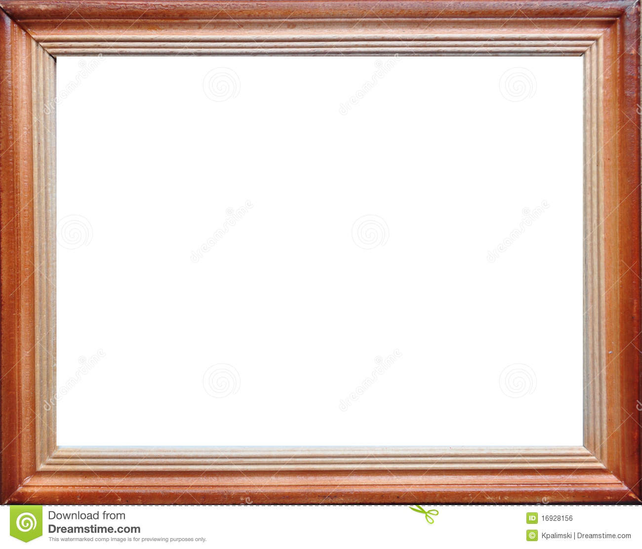Wood Empty Frame Border Royalty Free Stock Image  Image: 16928156