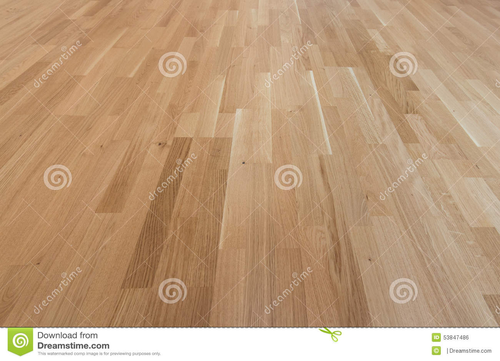 Wood floor - oak parquet / laminat