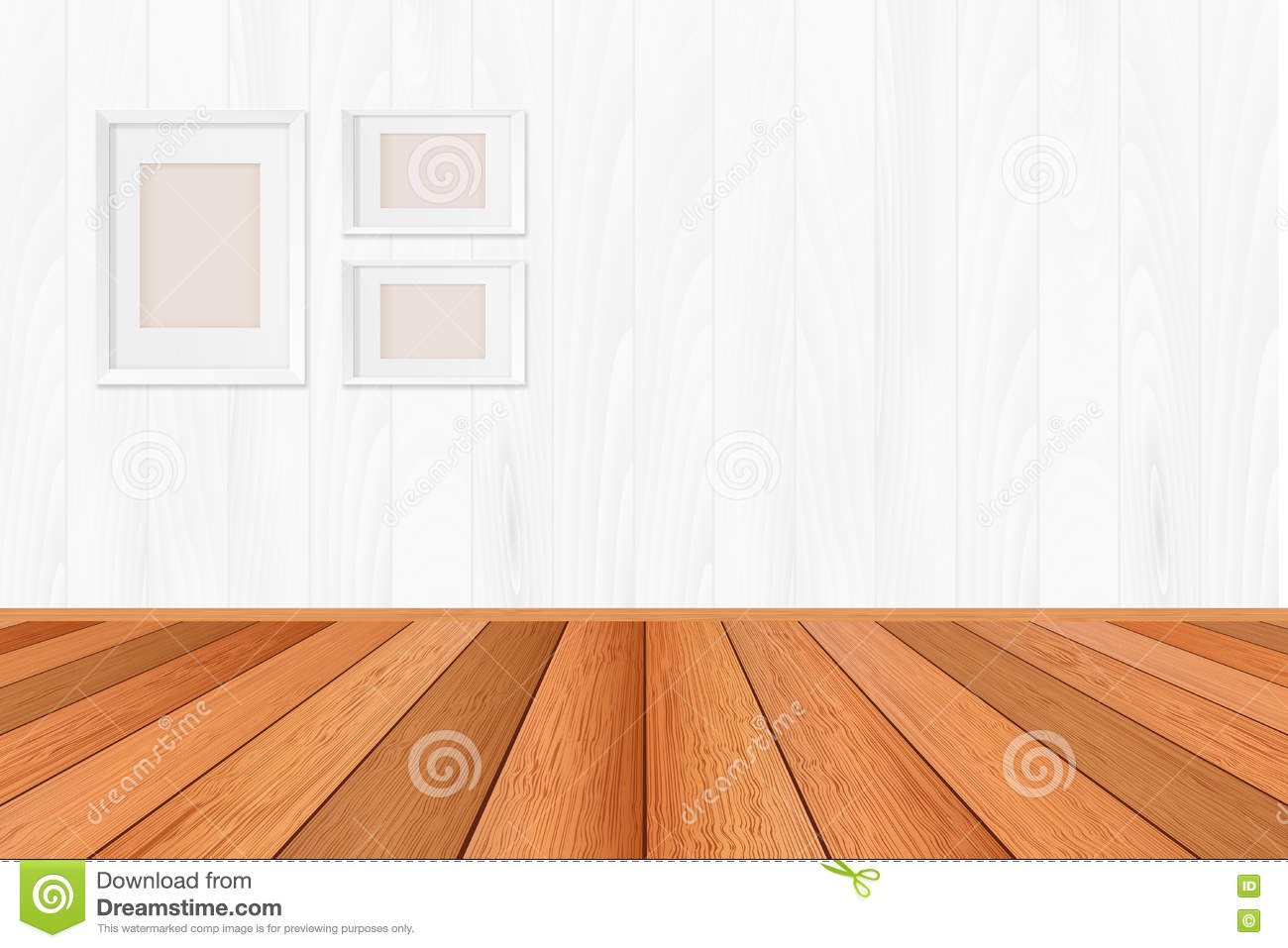 Wood Floor Textured Pattern Background In Light Brown Color Tone