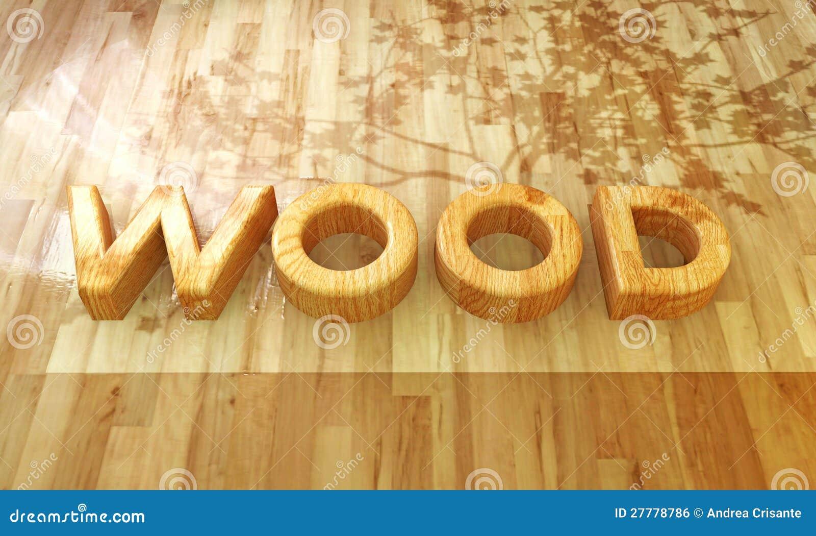 wood font royalty free stock image image 27778786