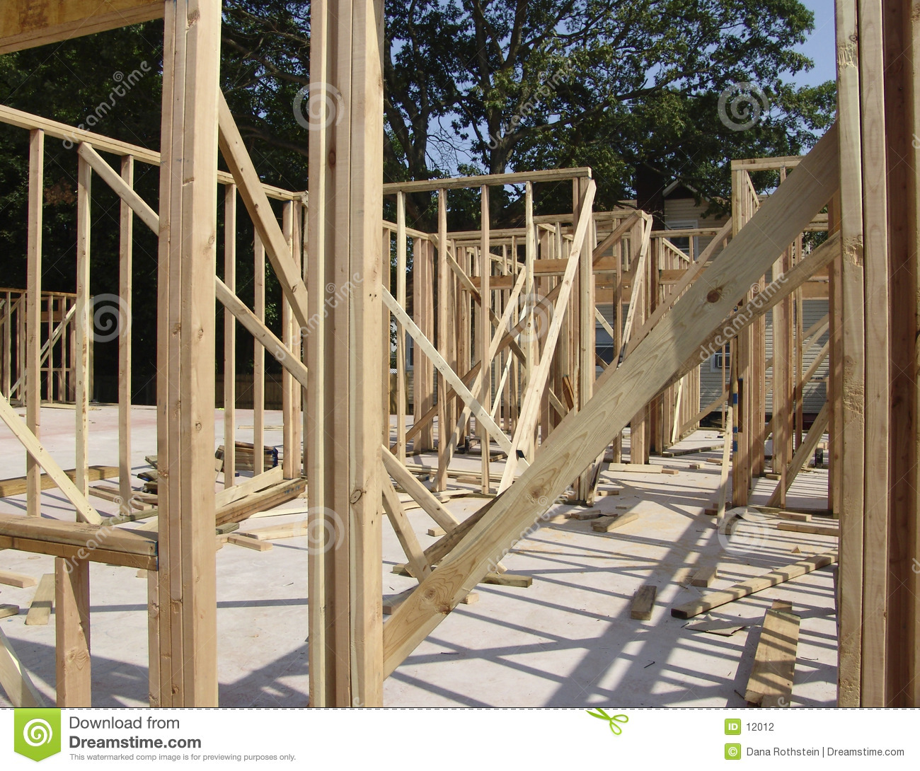 Download Wood Framing stock photo. Image of builder, supplies, wood - 12012