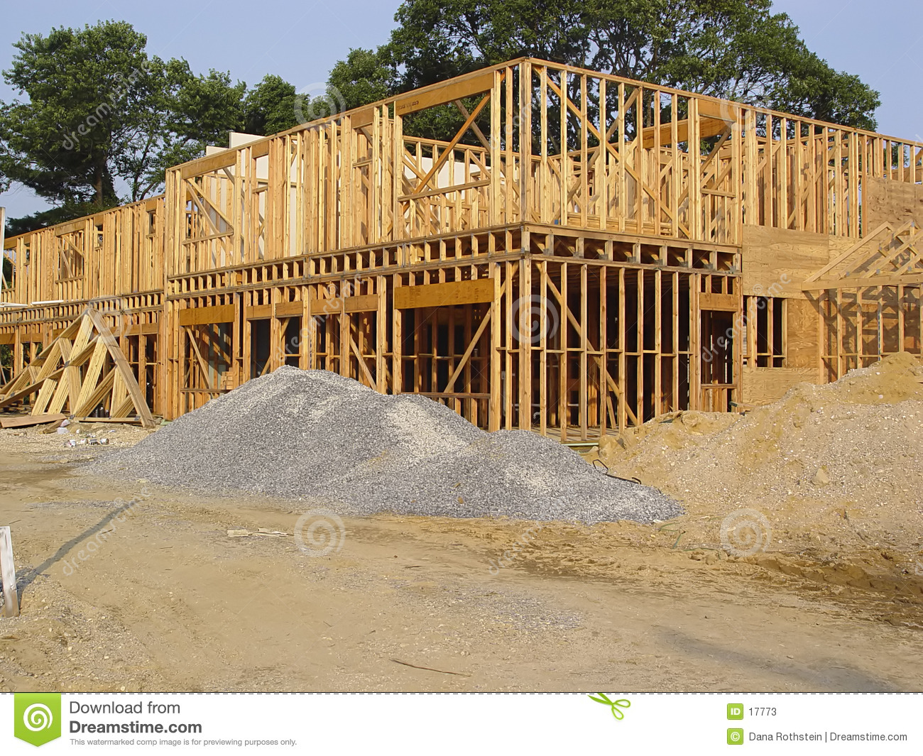 Wood Framing Stock Image Image Of Wood Carpentry Dirt