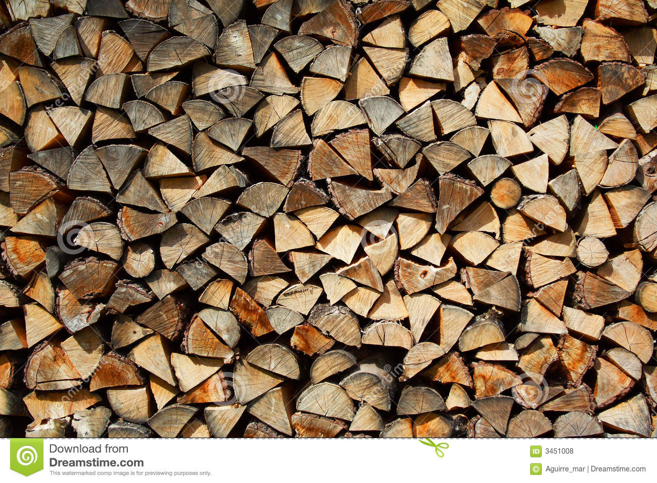 Wood on the fuel