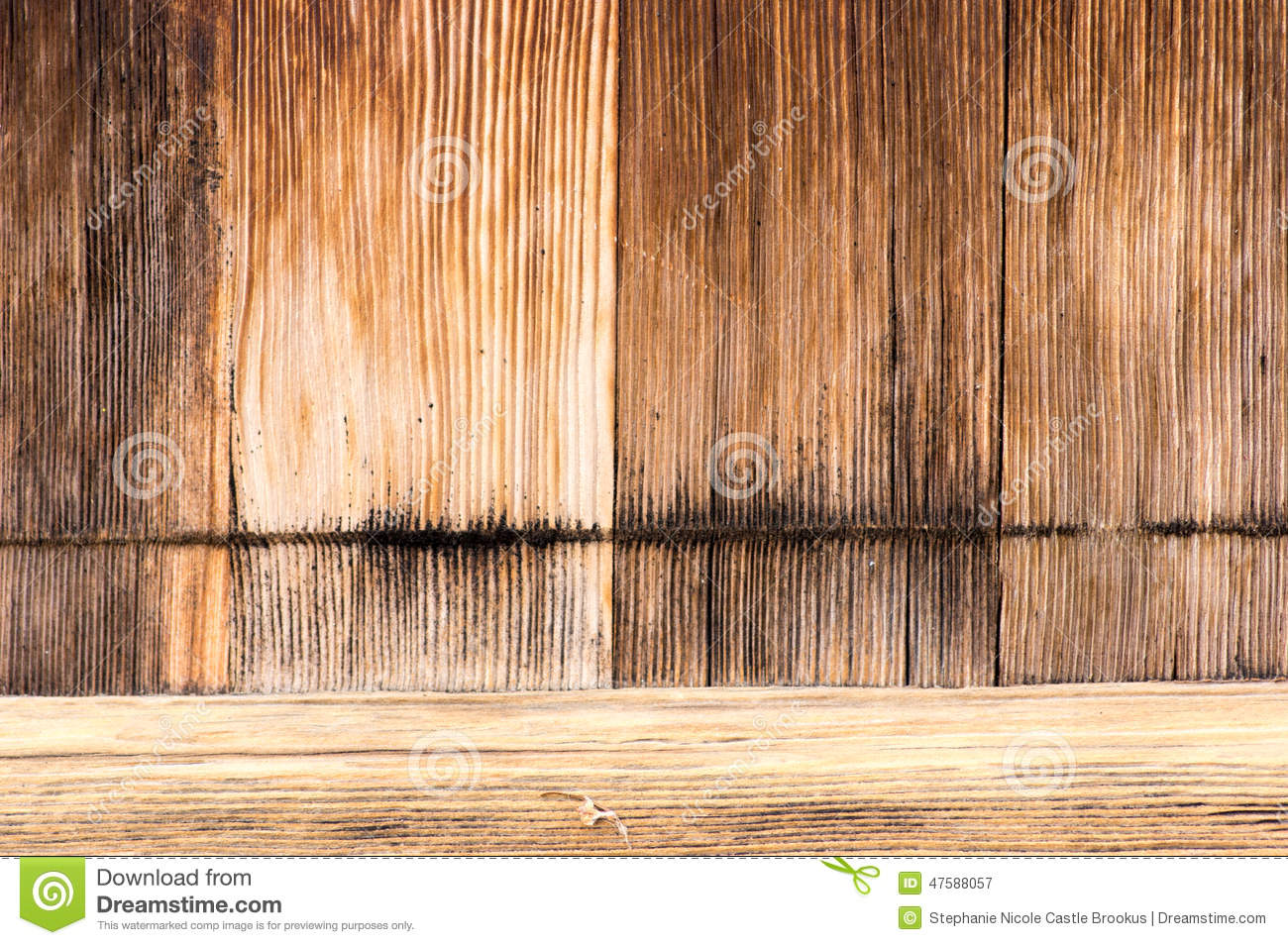 Wood grain door and threshold Royalty Free Stock Photography : woodgrain door - Pezcame.Com