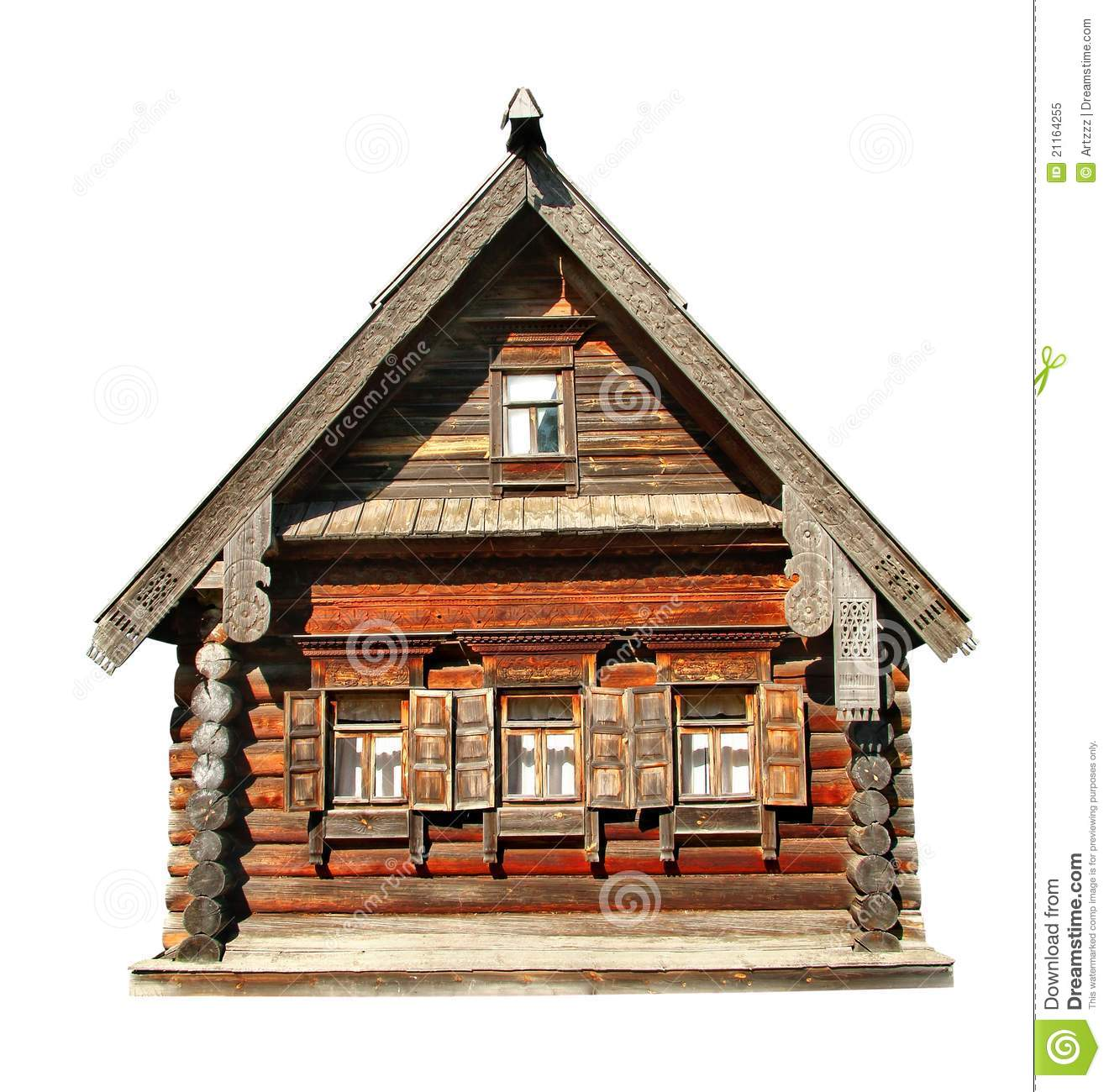 Wood house stock image image of home building granny for Time to build a house