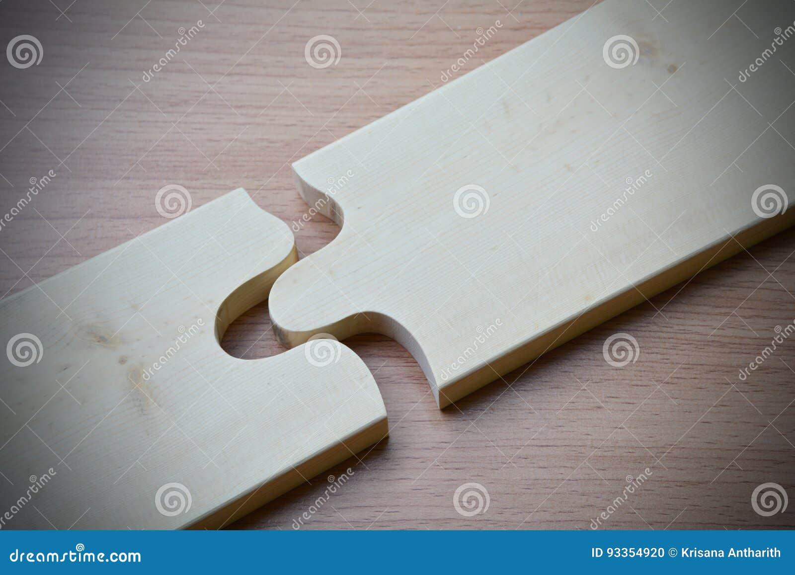 wood jigsaw piece texture pattern on wood table desk wooden back