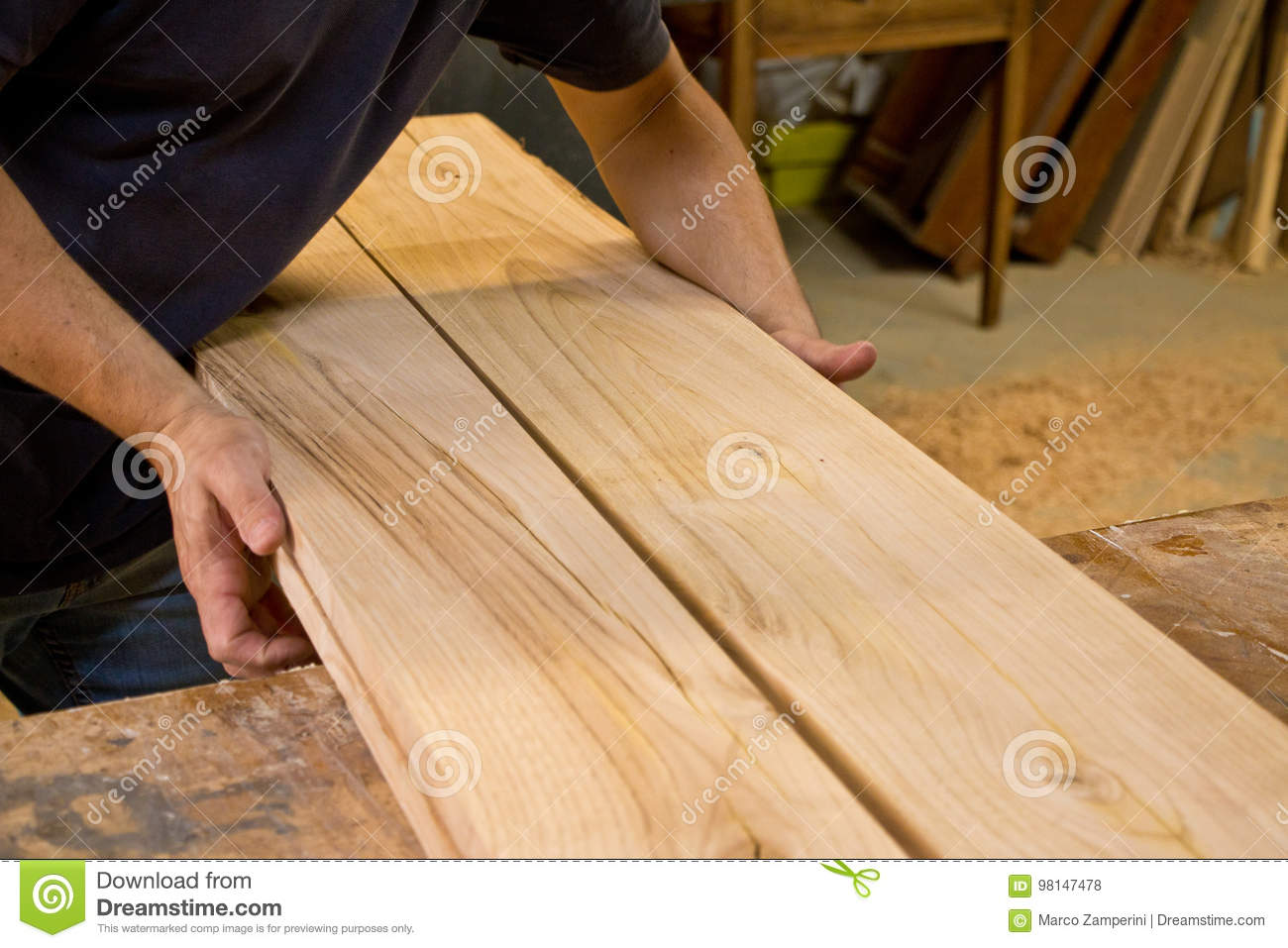 Wood joining stock photo. Image of industry, board, carpenter - 98147478