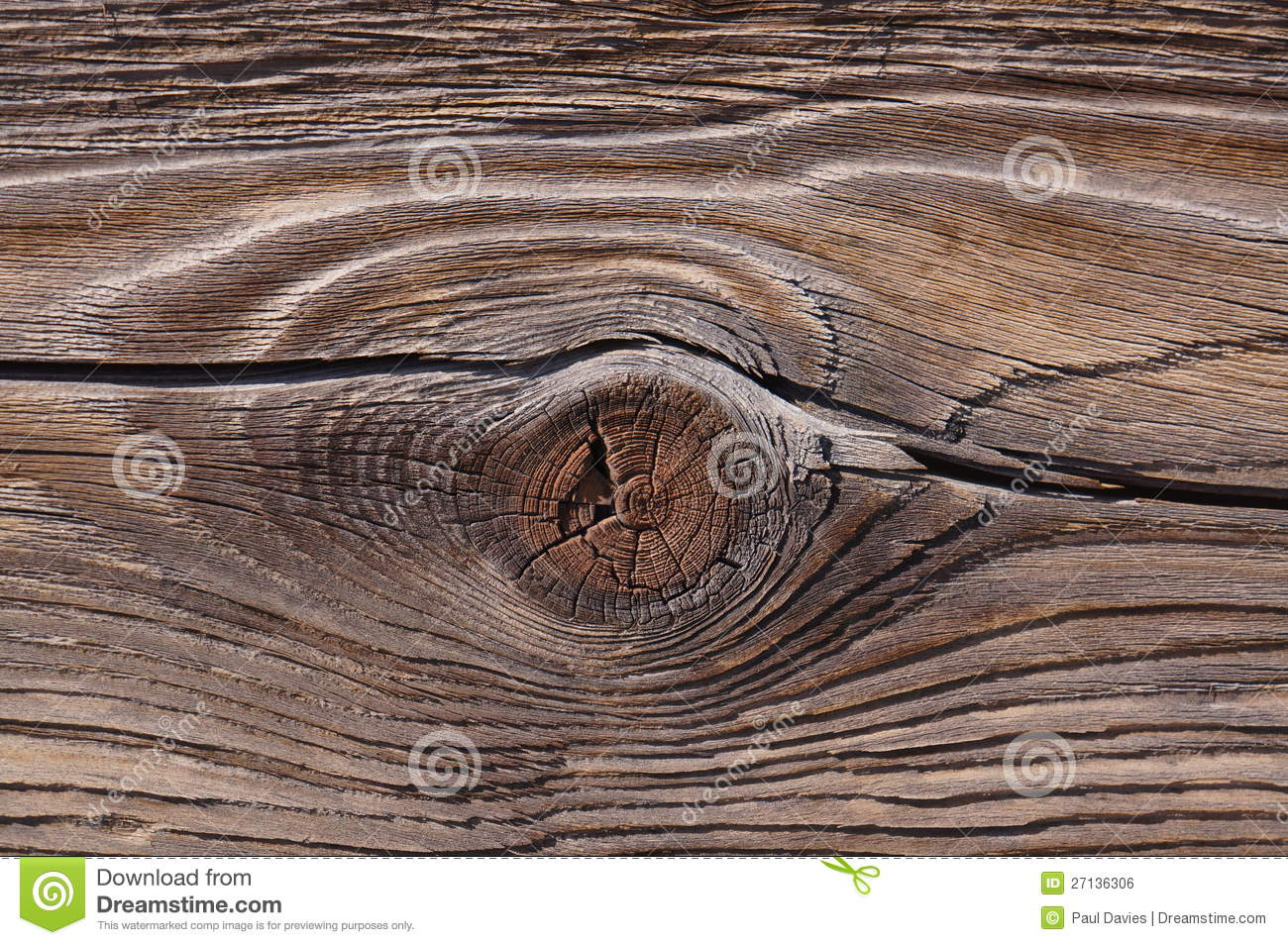 Wood Knot and Grain