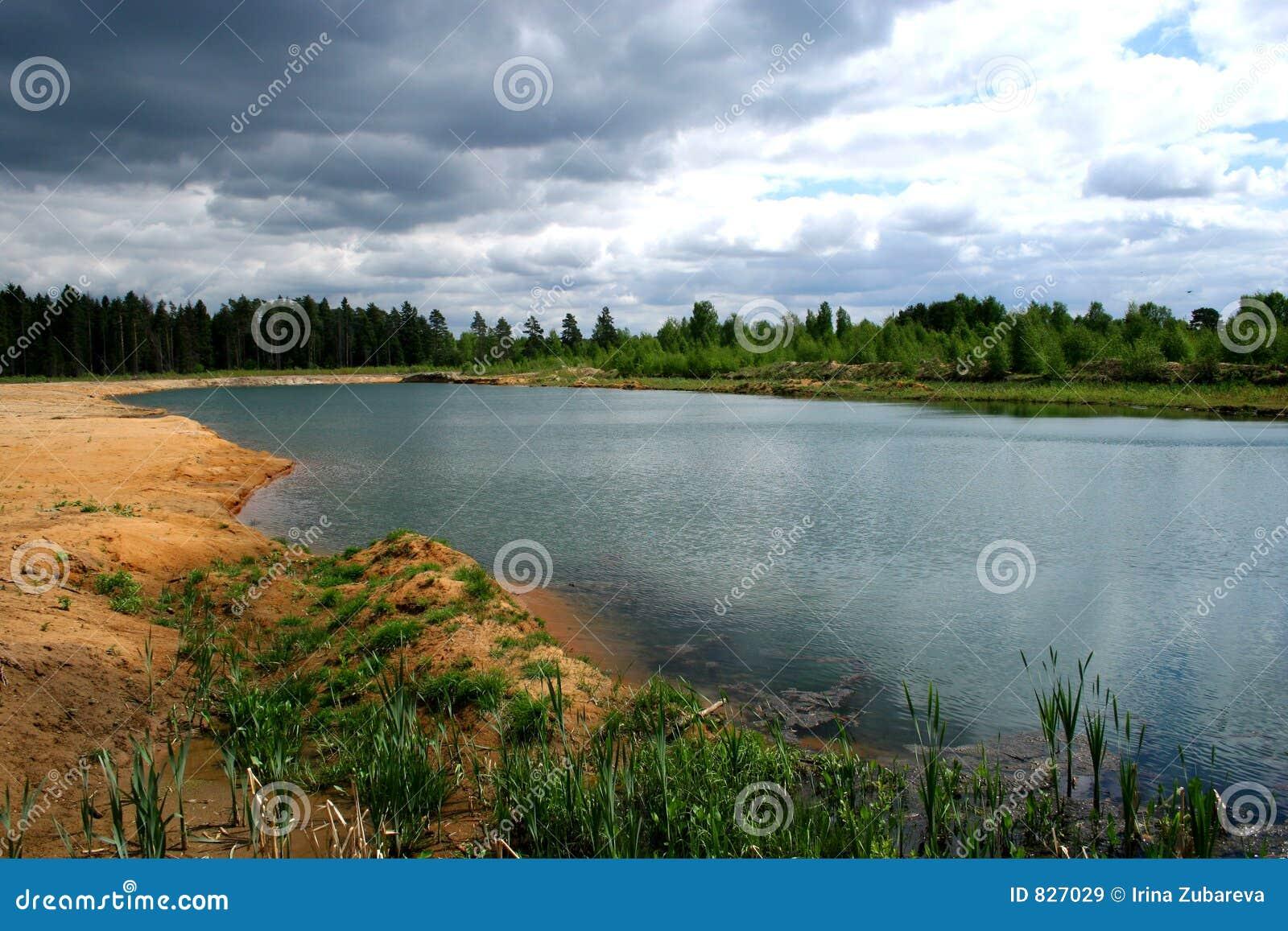Wood lake.