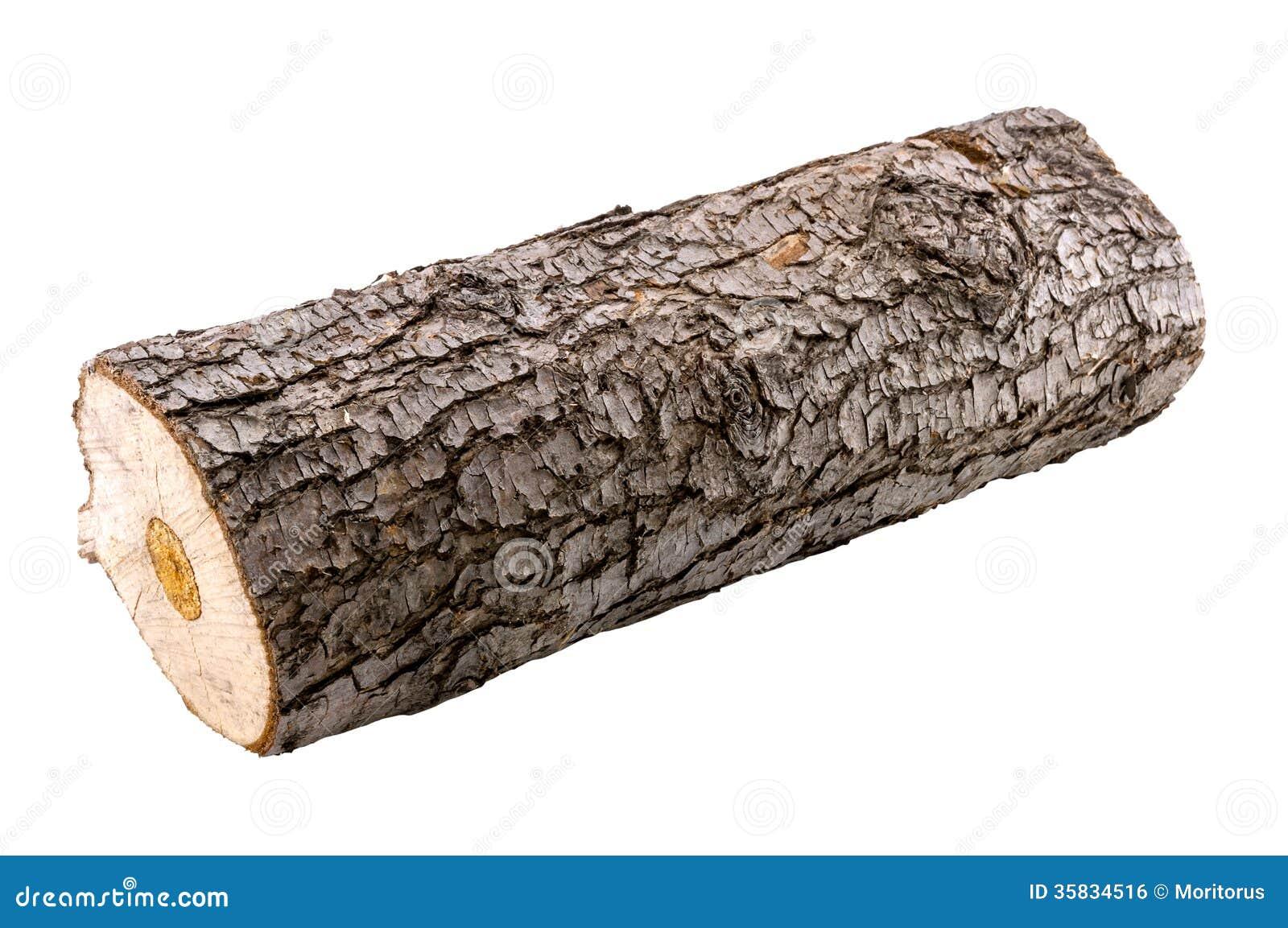Wood log as fire wood ...
