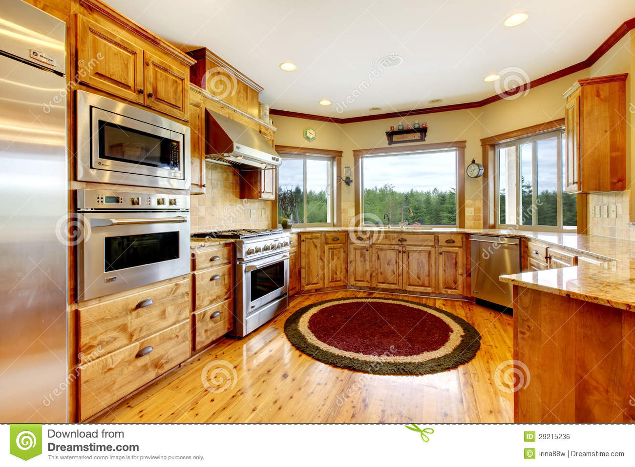 wood luxury home kitchen interior new farm american home royalty american home interior