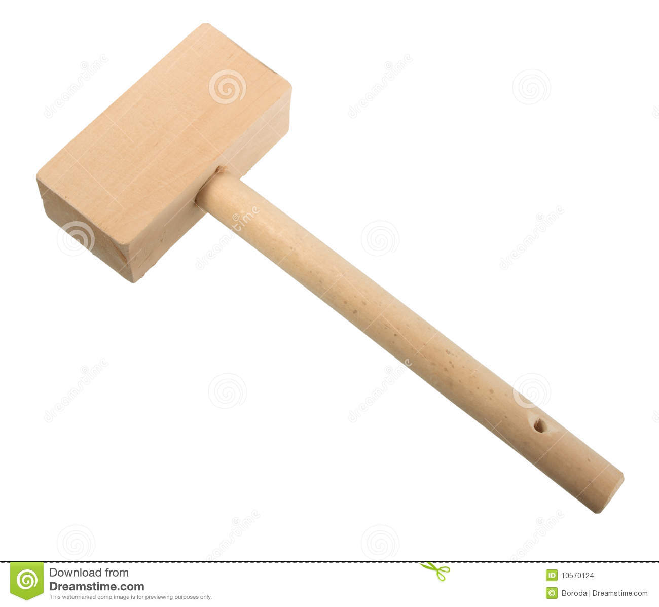 Wood Mallet Stock Images Image 10570124