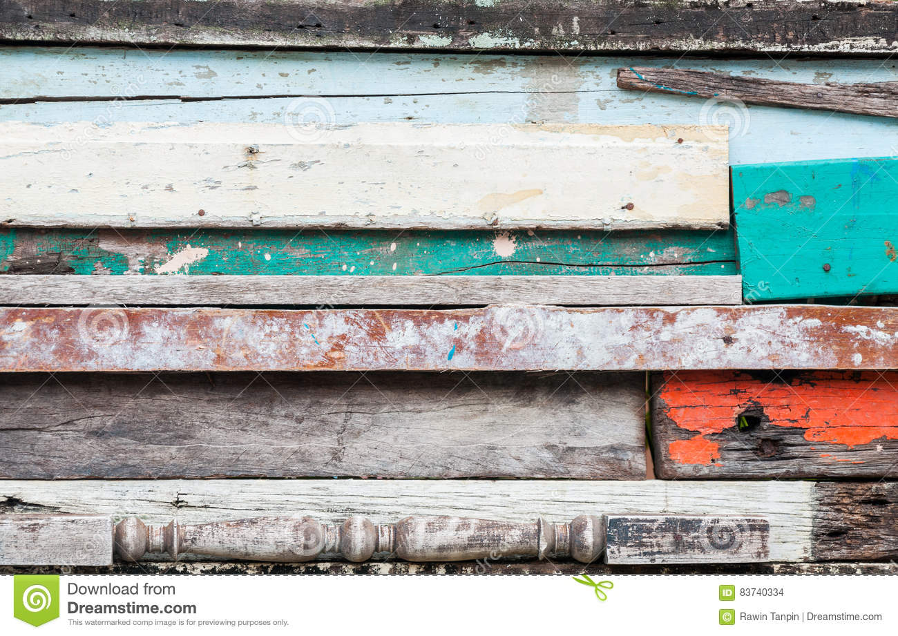 Wood Material Background For Old Vintage Wallpaper For Background Exposed Wooden Wall Exterior