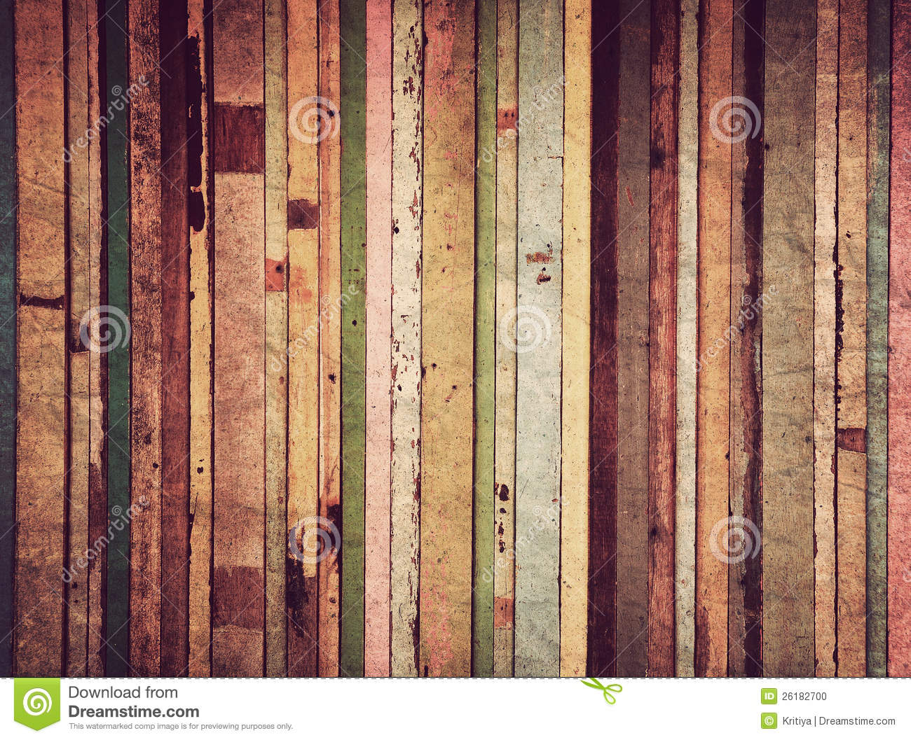 Wood Material For Vintage Wallpaper Stock Photo