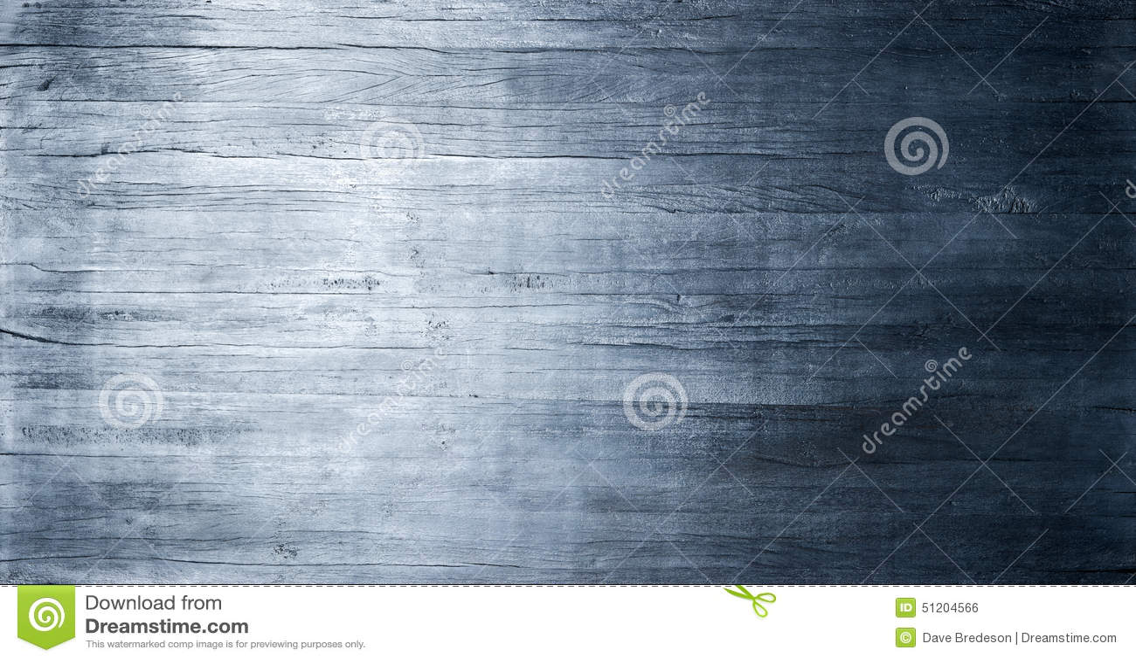 Blue Wood Metallic Texture Background