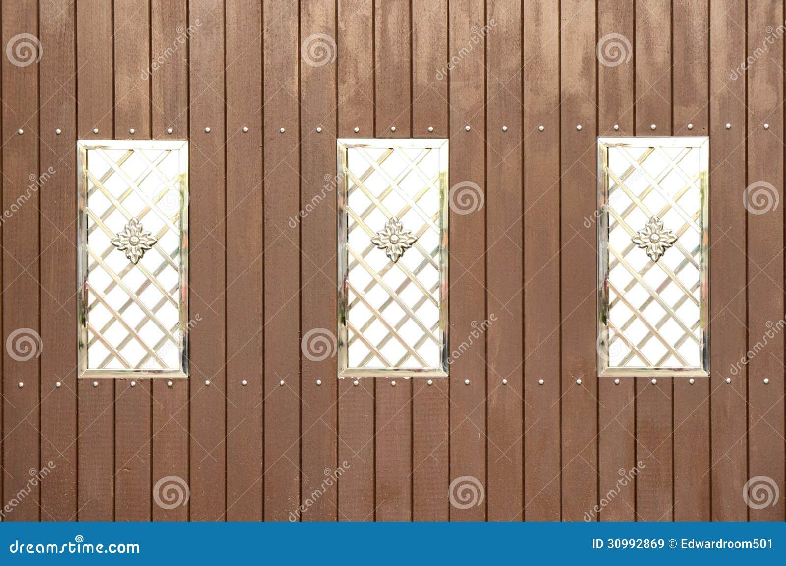 Wood Modern Stil För Staket Royaltyfria Bilder - Bild: 30992869