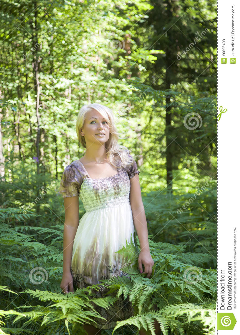 The Wood Nymph Royalty Free Stock Photos - Image: 20625408