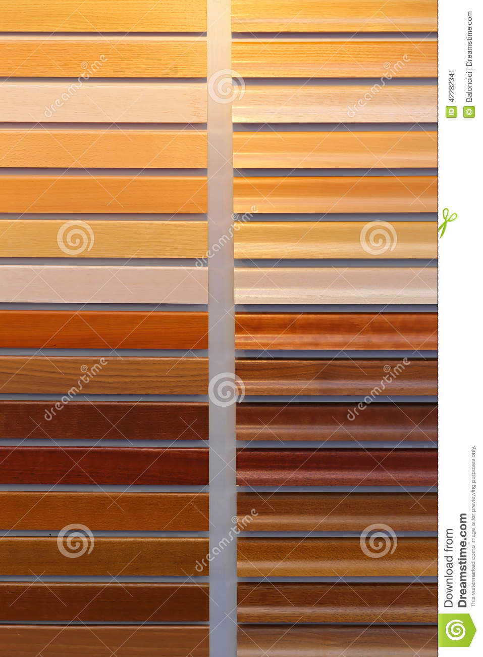 Wood Paint Colours Stock Photo Image 42282341