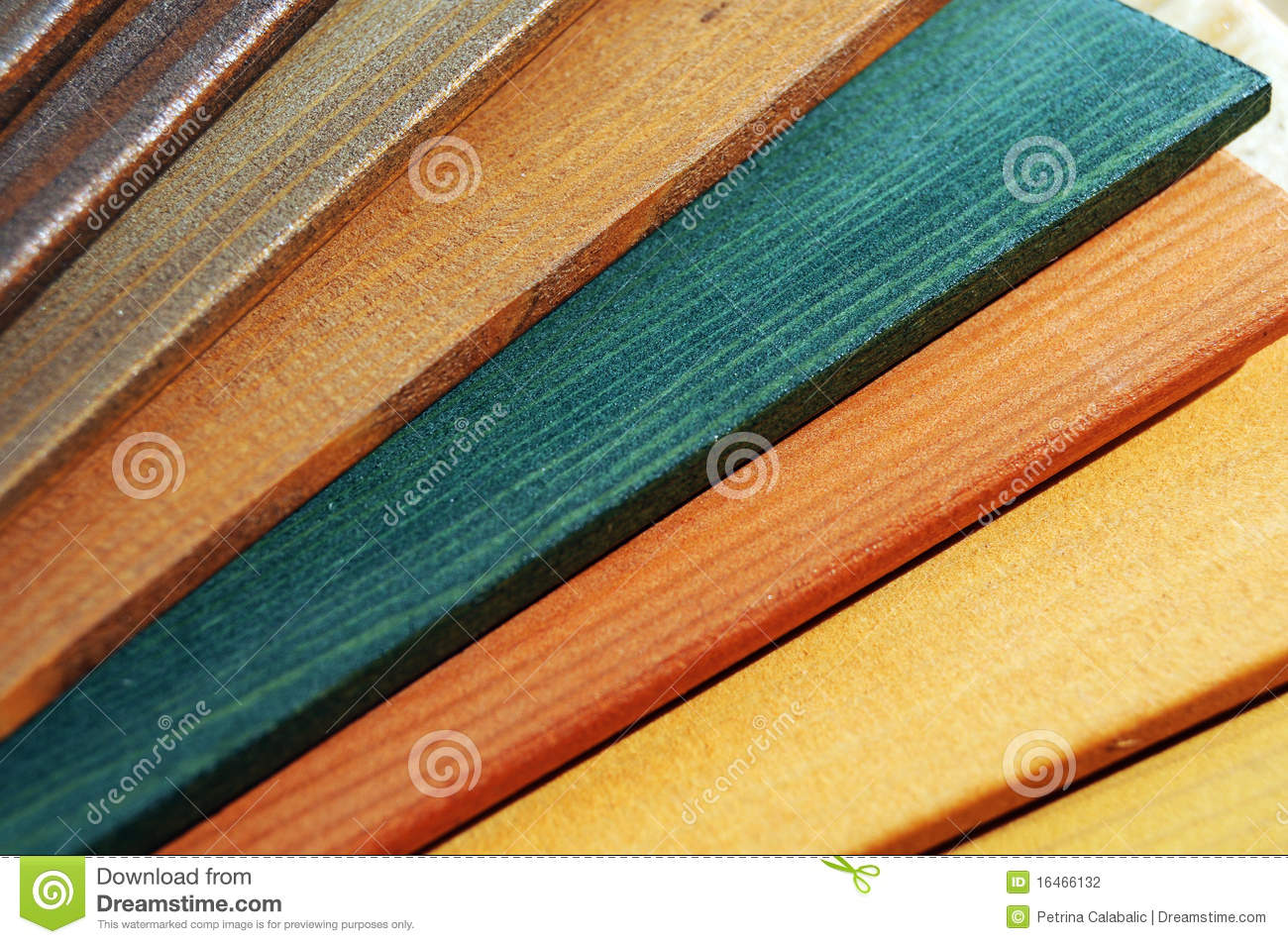 Wood Paint Samples Stock Photo Image Of White Floor 16466132