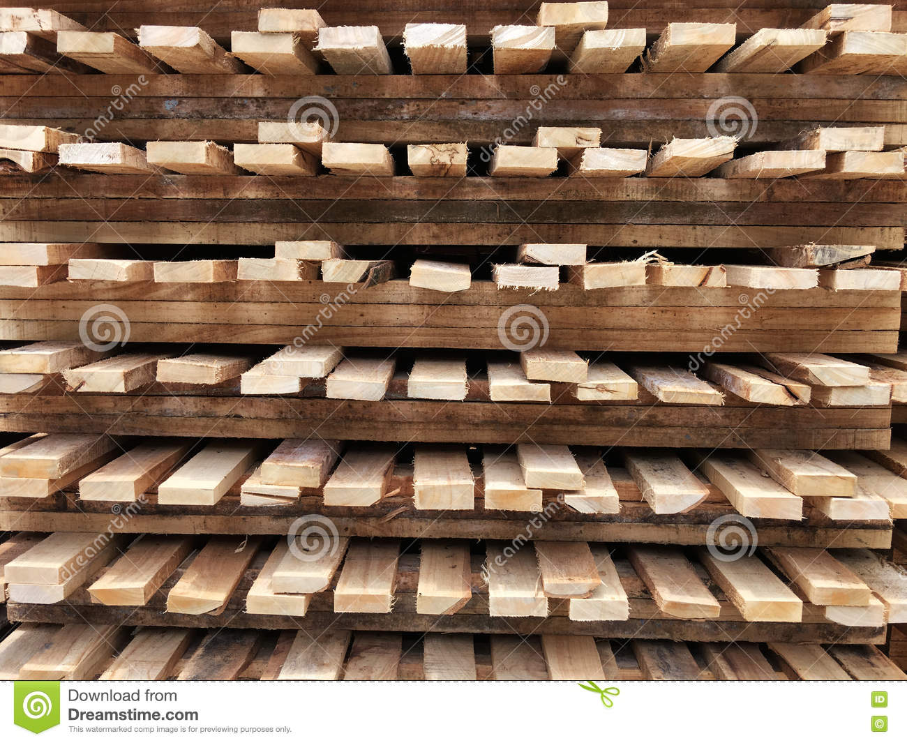 Wood Pallet Stock Photo Image Of Timber Industry Pallets