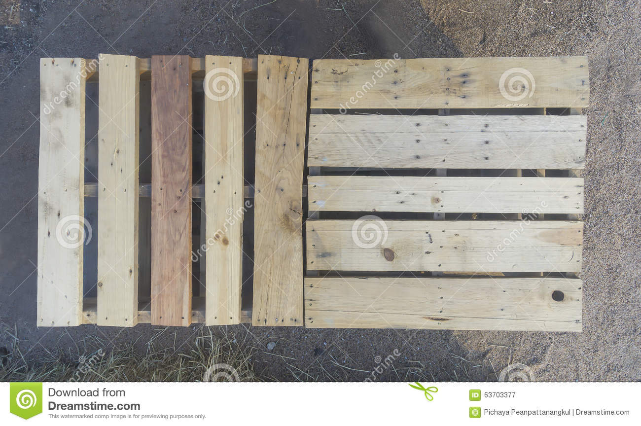 Wood Pallet Stock Image Of Commerce Packaging