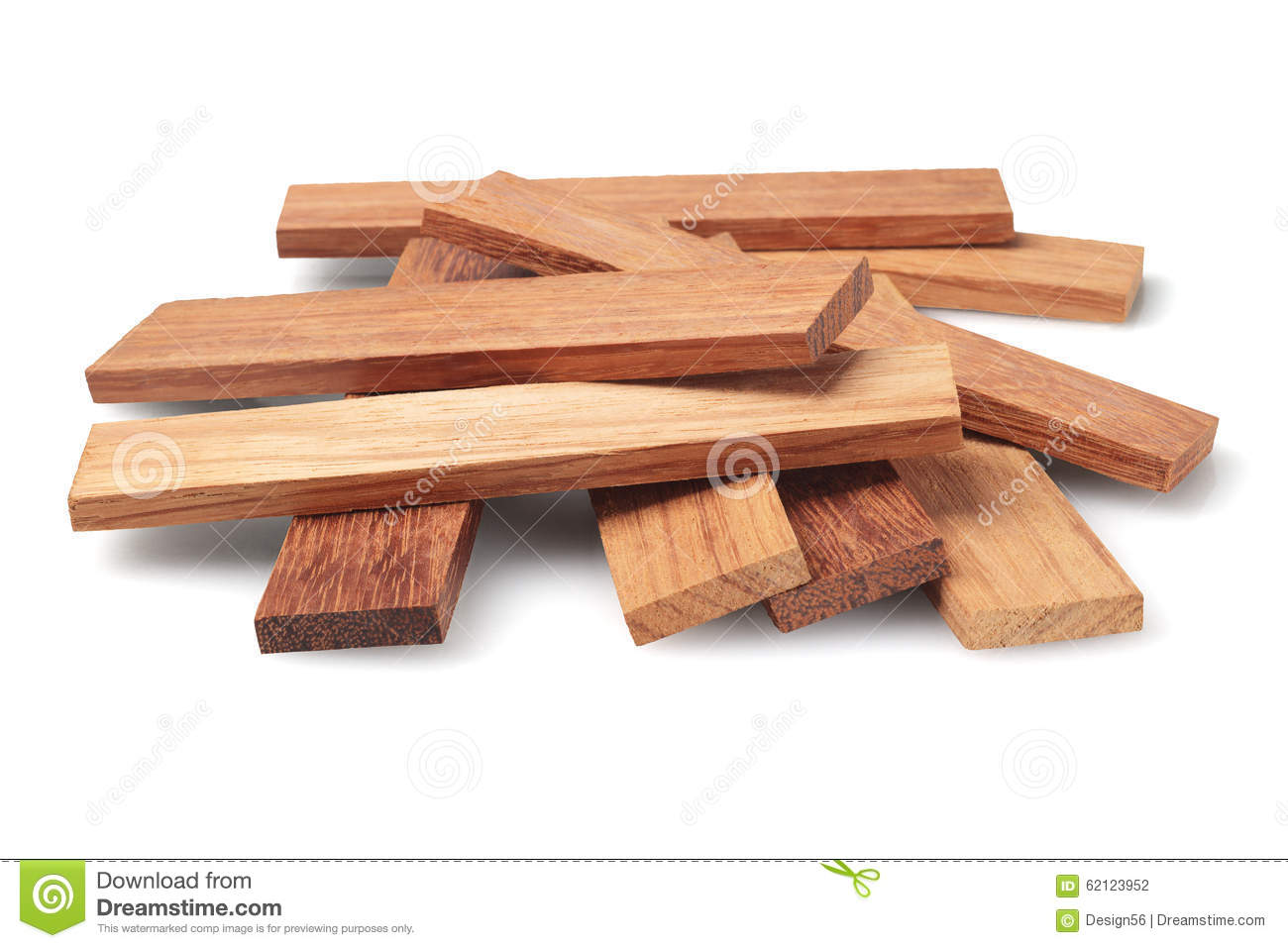 Wood Parquet Pieces Stock Photo Image 62123952