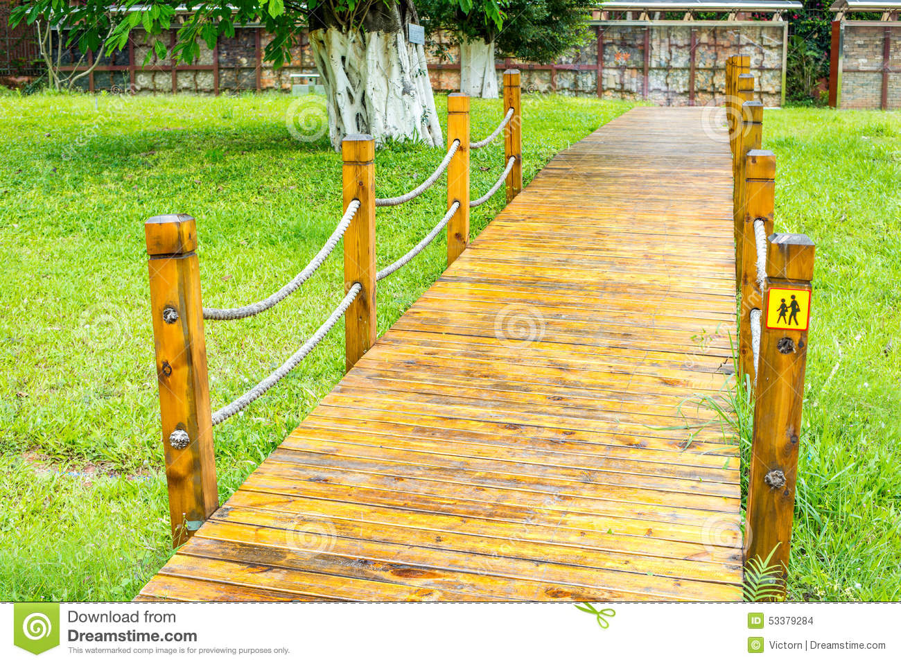 Royalty-Free Stock Photo. Download Wood pathway ...
